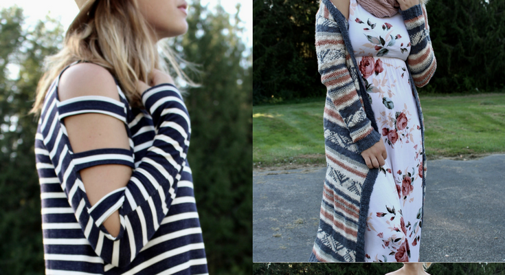 Styling a Summer Dress for Fall!